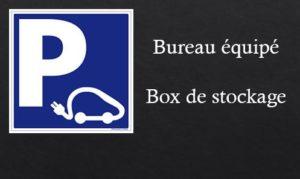 Le Patio de Loiseau Parking Bureau