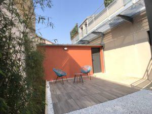Le Patio de Loiseau Le patio