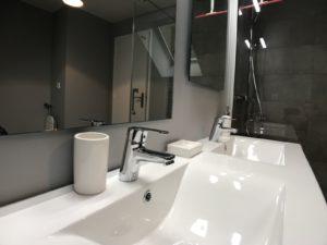Le Patio de Loiseau Loft 1 lavabo Salle de bain 1600 x 1200