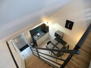 Le Patio de Loiseau Loft 5 mezzanine 1600 x1200