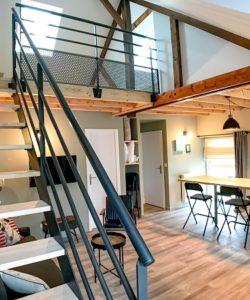 Le Patio de Loiseau Le grand Loft Le Patio de Loiseau Appart hotel privé 375x450
